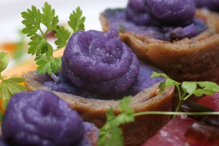 how to cook japanese purple sweet potato